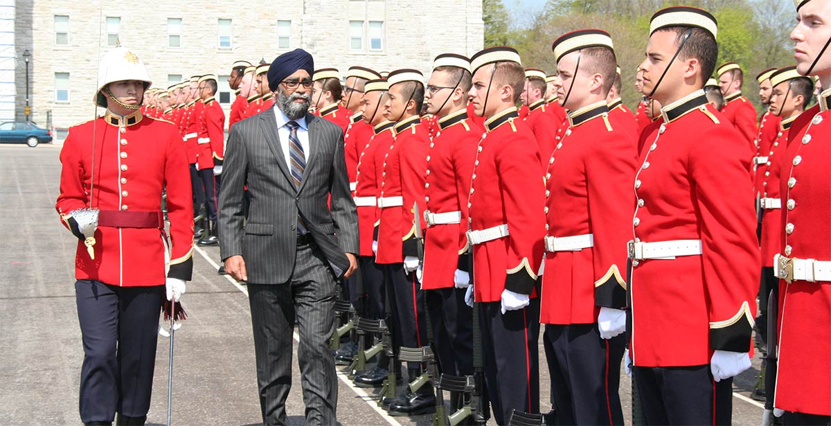Defense Minister Harjit Singh Sajjan, PC OMM MSM CD MP